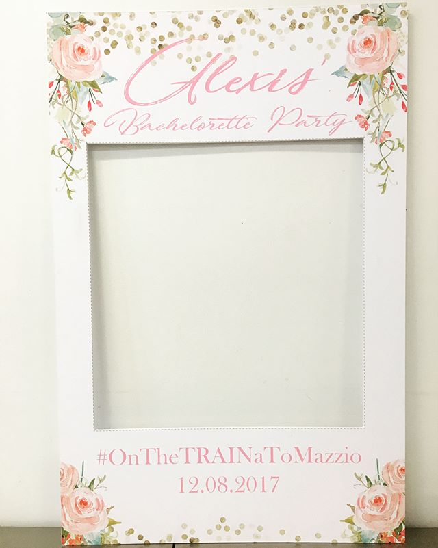 #onthetrainatomazzio #alexisbachelorette #elisaviestaco #marketing #events #design #igprop #photopro