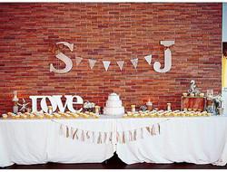 Dessert table #elisaviestaco #marketing #events #design #quentinroad #brooklyn #smallbusiness #brida