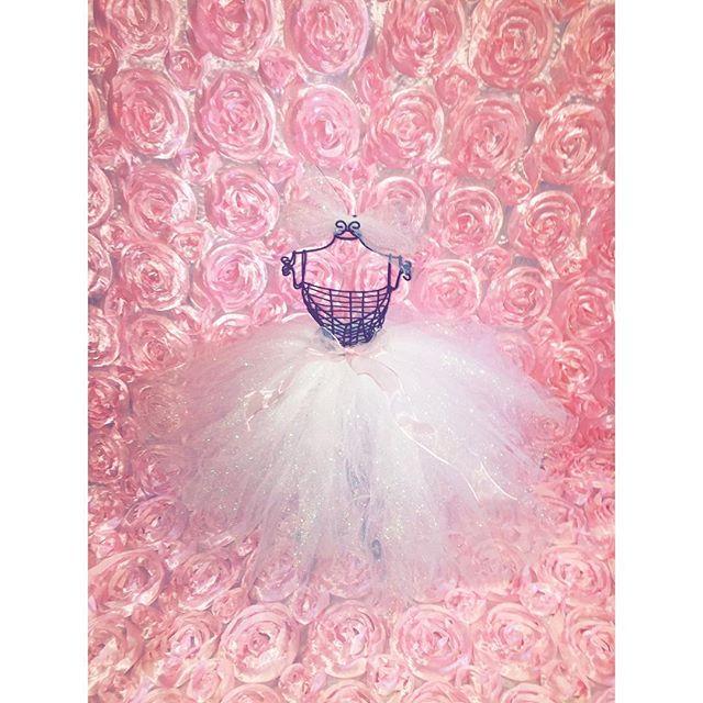 Custom made mini bridal mannequin #elisaviestaco #marketing #events #design #bridalshower #tulleskir