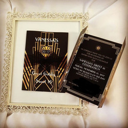 Getting ready for Gatsby! #elisaviestaco #marketing #events #design #eventplanner #invitations #swee