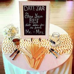 Date Jar #elisaviestaco #marketing #events #design #quentinroad #brooklyn #smallbusiness #bridalshow