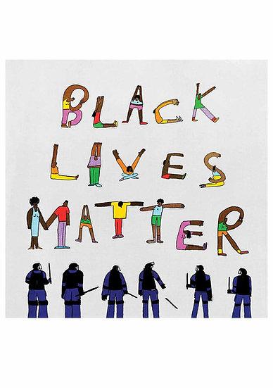 """Black Lives Matter 8"""""""