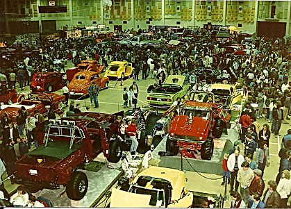 Cavalcade of Wheels 1988 at the Notre Dame ACC