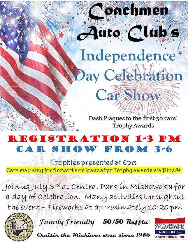 Coachmen Independence Day Car Show Flyer
