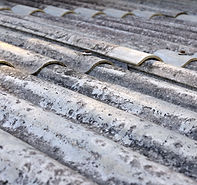 Asbestos corrugated cement roofing sheets