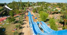 Water park at Saint Cyprien
