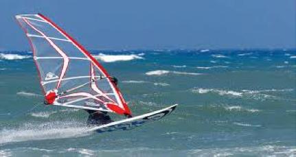 Wind Surfing at La Franqui