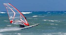 Windsurfing at La Franqui