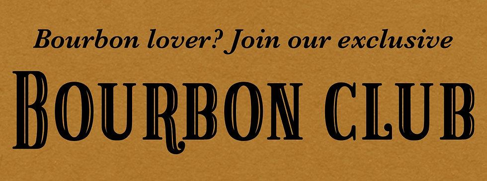Bourbon Club Membership