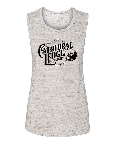 Womens Flowy Scoop Muscle Tank