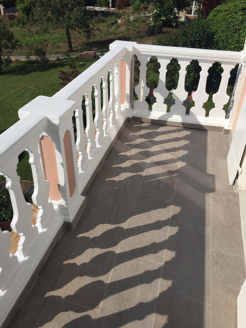 Peinture des balcons