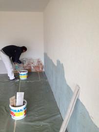 Rhabillage de murs