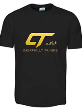 Caerphilly Tri-ers Caerphilly Corner Tech T-shirt