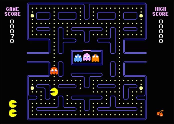 "Jogo ""Pac-Man"". UFRJ Nautilus"