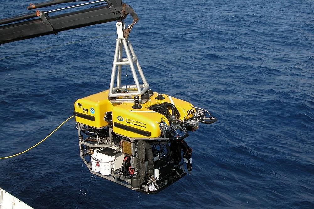 Exemplo de ROV. UFRJ Nautilus