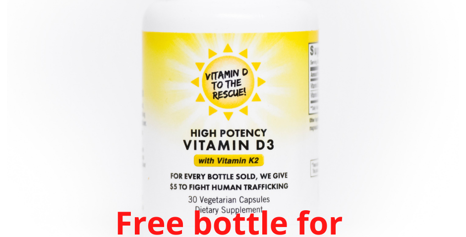 Free bottle for Health-Care providers  (You only pay shipping)