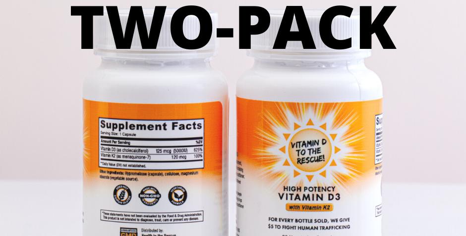 Vitamin D 2-Pack