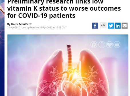 Could Vitamin K2 help patients with Covid-19?