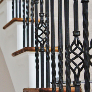 Grand staircase detail