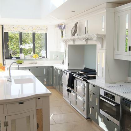 Mirrored Kitchen
