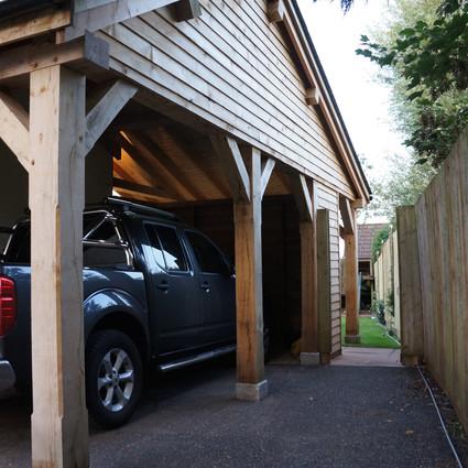 Carport and veranda