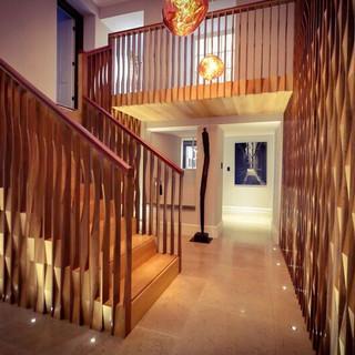 Wood award winning staircase