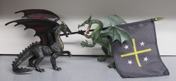 The Good Dragon in Battle with the F.O.E.
