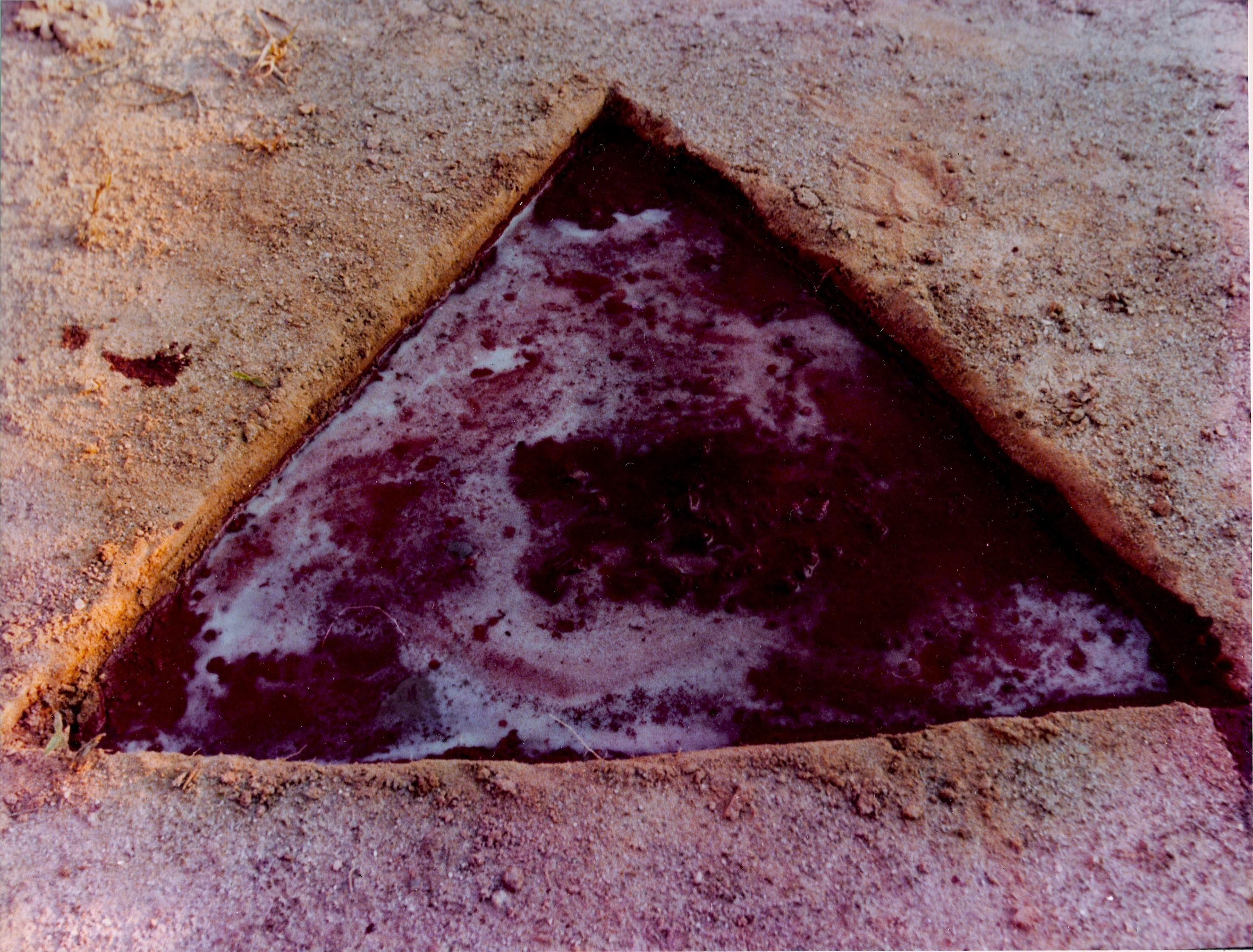 Na mina de caulim.1-6-1980