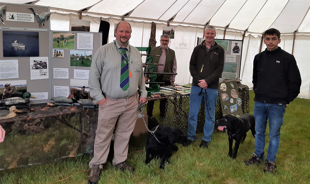 BWA members at Essex Young Farmers show 2019