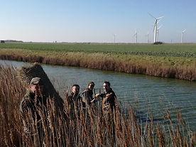 BWA members constructing nesting tubes for ducks