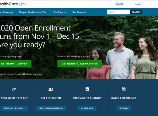 CMS Extends Open Enrollment 2020