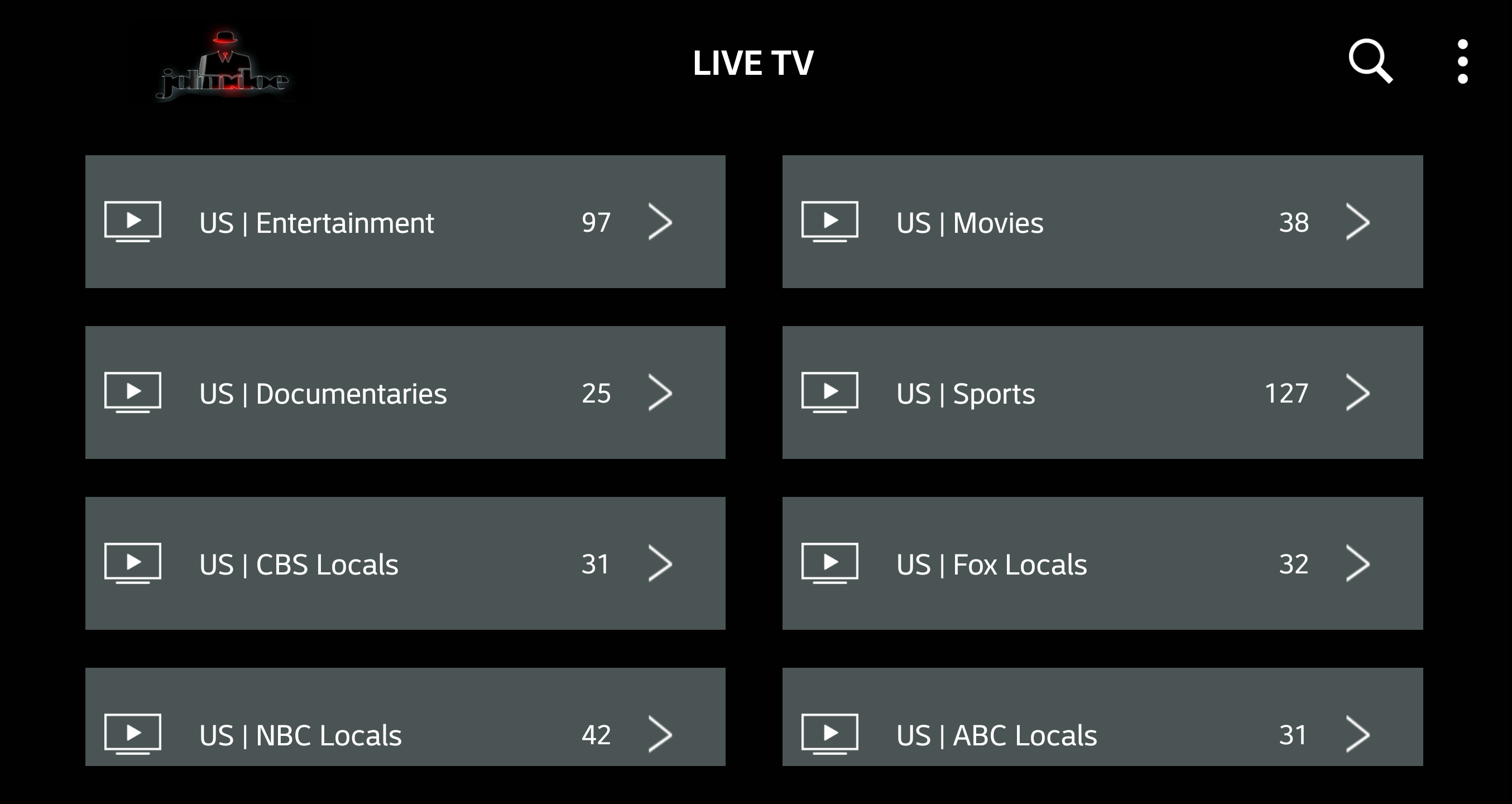 John Doe Streams | IPTV Subscriptions | Only £55 a year