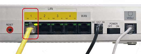 Router inputs
