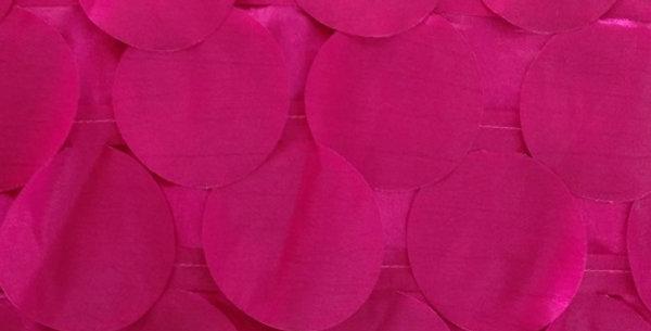 Round Drops Taffeta Pomegrante Tablecloth