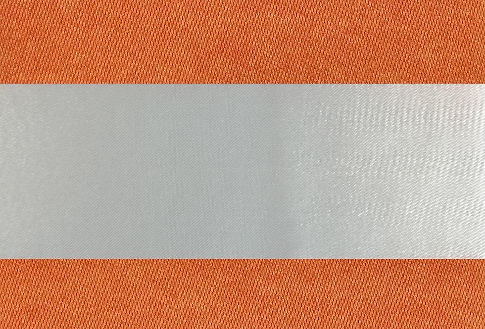 Canopy Stripes Papaya Tablecloth