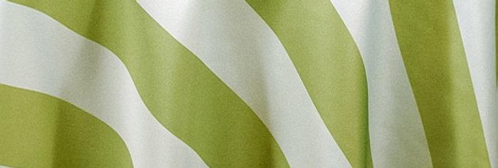 RENTAL - Canopy Stripes Pale Avocado Tablecloth