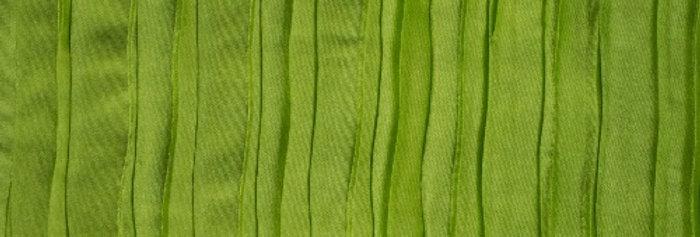 RENTAL - Accordion Satin Lime Green Tablecloth