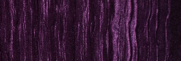 RENTAL - Accordion Satin Eggplant Tablecloth