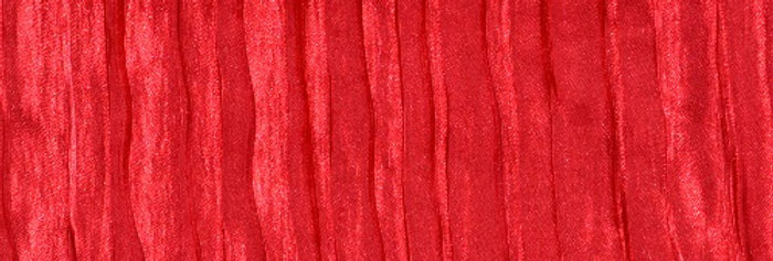 RENTAL - Accordion Satin Red Tablecloth