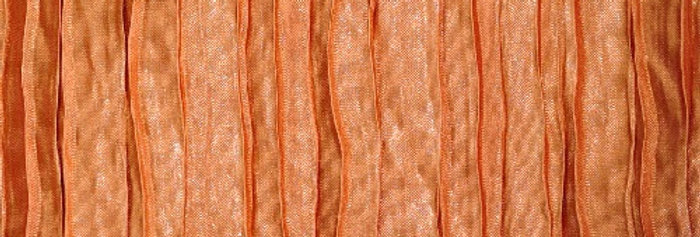 RENTAL - Accordion Satin Pumpkin Tablecloth