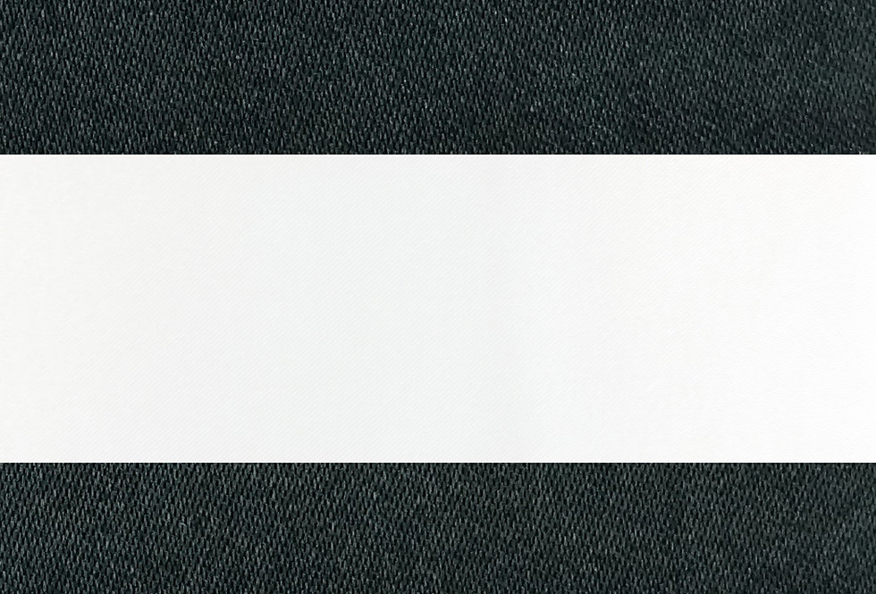 Canopy Stripes Black Tablecloth
