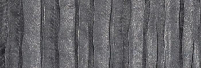 RENTAL - Accordion Satin Gray Tablecloth