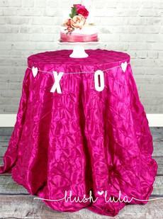 Hot PinkPinwheel Tablecloth for Wedding or Party at blush LULA