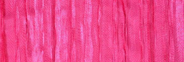 RENTAL - Accordion Satin Hot Pink Tablecloth