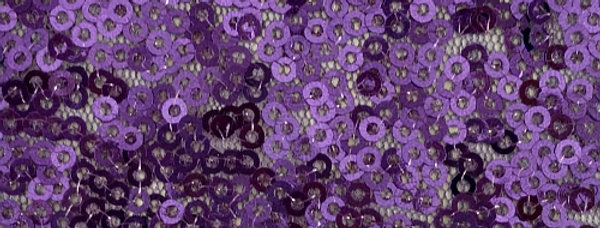 Sparkle Sequin Purple Tablecloth