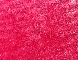 Lollipop Pink Velvet Velour Tablecloth O