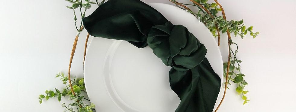 Evergreen Matte Velvet Napkin