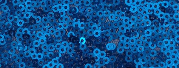Sparkle Sequin Blue Tablecloth