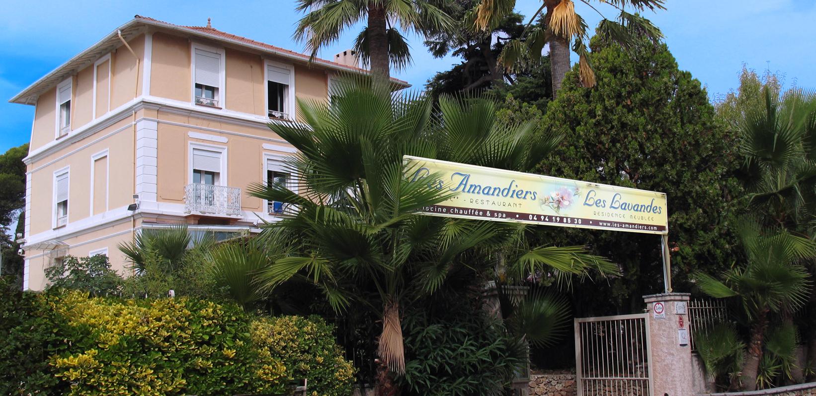 hôtel les amandiers Saint-Raphaël