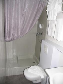 salle de bain chambre double